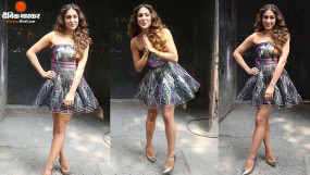 Fashion: स्टाइलिश अंदाज में फिल्म 'लव आजकल' का प्रमोशन कर रहीं सारा, फैंस को आया पसंद