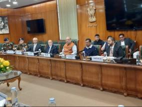 शाह ने दिल्ली हिंसा पर उच्चस्तरीय बैठक की