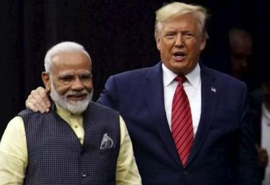 सामना: डोनाल्ड ट्रंप के दौरे से पहले शिवसेना का निशाना, कहा- भारत को भेंट किए कड़वे करेले