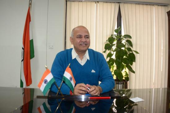 सिसोदिया ने भारत सरकार से मांगा केंद्रीय करो में हिस्सा