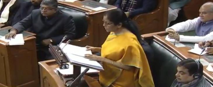 बजट 2020: वित्त मंत्री सीतारमण ने जेटली को दी श्रद्धांजलि, कहा- GST ने भारत को जोड़ा
