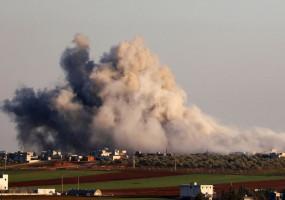 Airstrike In Syria: इदलिब प्रांत में बड़ा हवाई हमला, तुर्की के 33 सैनिकों की मौत