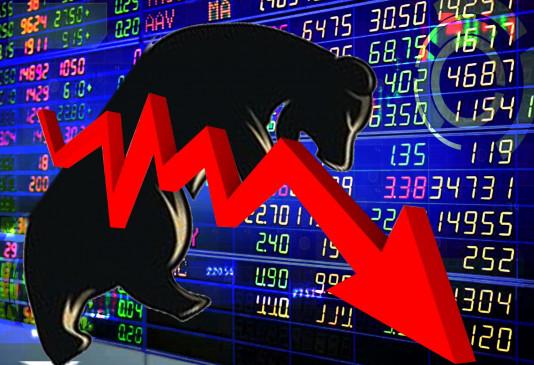 आम बजट बाद शेयर बाजार 700 अंक गिरा