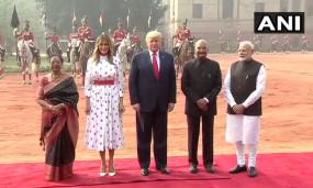 Trump India visit day 2 live: अमेरिका की फर्स्ट लेडी मेलानिया ट्रंप बोलीं-भारत एक शानदार देश, आकर अच्छा लगा