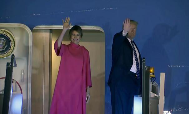 Trump India visit: अमेरिकी राष्ट्रपति डोनाल्ड ट्रम्प अपने परिवार के साथ अमेरिका रवाना हुए