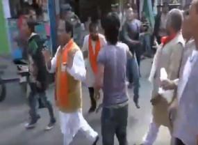 Fake News: बीजेपी नेता दिलीप घोष से मारपीट का वीडियो गलत दावे के साथ वायरल