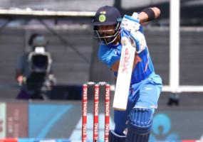 NZ VS IND: कोहली ने बतौर कप्तान वनडे में सबसे ज्यादा रन बनाने के मामले में गांगुली को पिछे छोड़ा