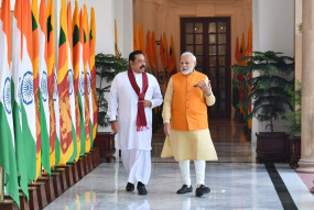 दौरा: राजपक्षे से मुलाकात में बोले पीएम मोदी, उम्मीद है श्रीलंका तमिलों की आकांक्षाओं को समझेगा