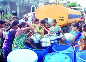 नागपुर में 346 टैंकर से की जा रही है जलापूर्ति ,बंद होंगे 120 टैंकर