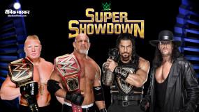 WWE सुपर शोडाउन रिजल्ट्स-हाइलाइट्स: गोल्डबर्ग, द अंडरटेकर और ब्रॉक लैसनर के नाम रहा यह इवेंट