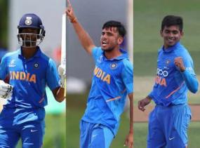 क्रिकेट: ICC ने अंडर-19 वर्ल्ड कप टीमघोषित की, भारत के यह तीन खिलाड़ी शामिल