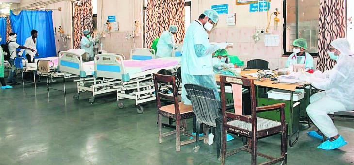 कोरोना के काफी मरीज मेयो-मेडिकल पहुंचे