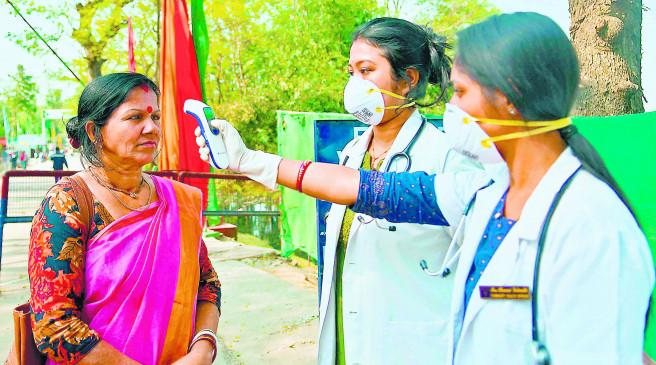कोरोना : पॉजिटिव मरीजों के घर से 3 किलोमीटर के दायरे में रहने वालों की होगी स्वास्थ्य जांच