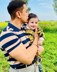 गिप्पी ग्रेवाल के बेटे संग आमिर ने की मस्ती, तस्वीरें वायरल