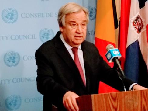 कोविड-19 महामारी पर कार्रवाई की जरूरत : संयुक्त राष्ट्र प्रमुख