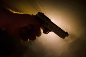संपत्ति विवाद के कारण बैखलाए बेटे ने बाप को मारी गोली
