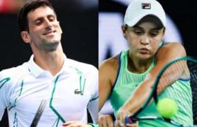 टेनिस रैंकिंग: नोवाक जोकोविच और एश्लेग बार्टी टॉप पर बरकरार