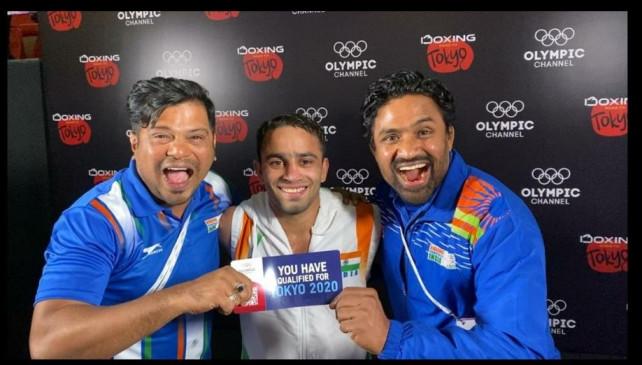 मुक्केबाजी ओलम्पिक क्वालीफायर : अमित सेमीफाइनल में, मिला ओलम्पिक टिकट
