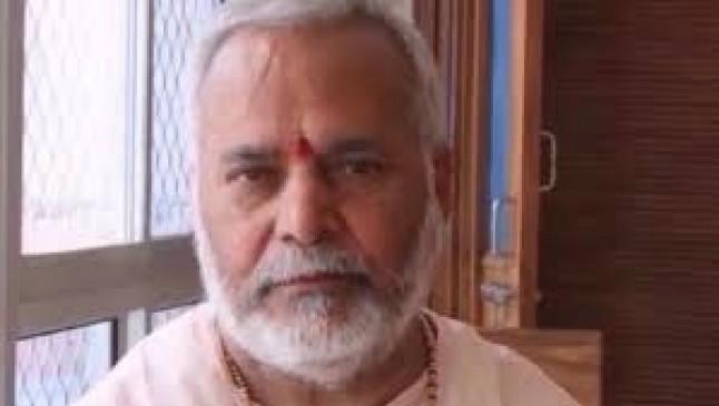 शाहजहांपुर: जमानत पर रिहा चिन्मयानंद ने धूमधाम से मनाया अपना जन्मदिन