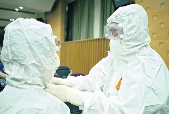 16 संदिग्धों के नमूने जांच के लिए मेयो अस्पताल में भेजे गए