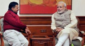 Delhi: पीएम मोदी से मिले केजरीवाल, दिल्ली हिंसा और कोरोना पर हुई चर्चा