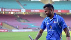 डीवाई पाटिल टी-20 कप: पंड्या की तूफानी पारी, 55 गेंदों में 158 रन बनाए; 20 छक्के और 6 चौके लगाए