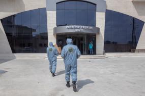 कोरोना वायरस: फिलिस्तीन में कोविड-19 संक्रमण के चलते पहली मौत