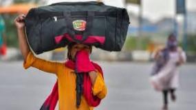 राजस्थान के पैदल निकले 40 राहगीरों को खिलाया भोजन, मजदूरों को रोकने होम शेल्टर में बढ़ोतरी
