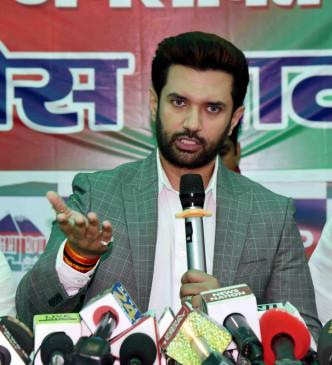 बिहार के युवा पलायन को मजबूर : चिराग पासवान