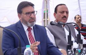 पीडीपी के पूर्व नेता ने कश्मीर में अपनी पार्टी लॉन्च की