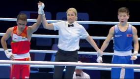 Boxing Olympic qualifiers: अमित पंघल क्वार्टर फाइनल में पहुंचे,ओलिंपिक टिकट से एक जीत दूर
