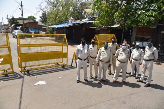 जबलपुर शहर पूरी तरह बंद रहा, जागरूक जनता ने दिया पूर्ण सहयोग - पुलिस दे रही समझाइश