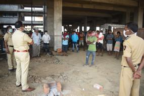 नागपुर : चिंचभवन में फंसे 150 मजदूरों की गुहार, बोले हमें घर जाना है