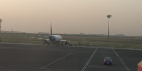 नागपुर : खराबी के कारण इंडिगो विमान नहीं भर सका उड़ान, कोरोना अलर्ट पर एयरपोर्ट