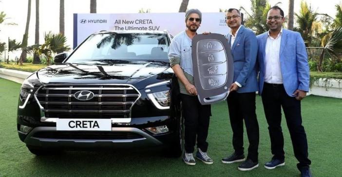 एसयूवी: शाहरुख खान बने Hyundai Creta 2020 के पहले मालिक, ये हैं खास फीचर्स