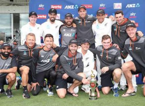 NZ VS IND: न्यूजीलैंड ने दूसरे टेस्ट में भारत को 7 विकेट से हराया, सीरीज में 2-0 से किया क्लीन स्वीप