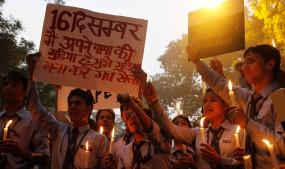 निर्भया को 7 साल बाद मिला इंसाफ, लोगों ने मनाया जश्न (लीड-1)