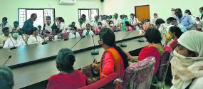मनपा के 200 से ज्यादा अधिकारी-कर्मचारी 4 घंटे तक एक साथ रहे लक्ष्मीनगर जोन
