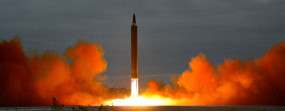 उत्तर कोरिया ने दागी दो अज्ञात मिसाइल : सियोल