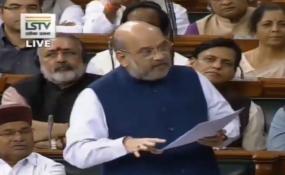 Parliament: अमित शाह बोले- दिल्ली में हुईं हिंसा के जिम्मेदारों को बख्शा नहीं जाएगा