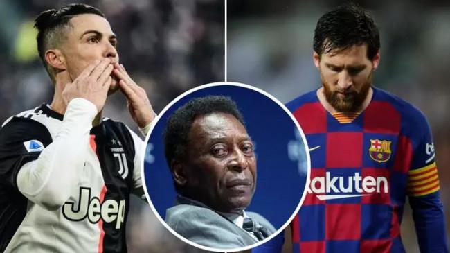 तारीफ: पेले ने कहा, मौजूदा समय में मेसी नहीं रोनाल्डो हैं दुनिया के बेस्ट फुटबॉलर