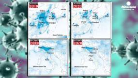 Coronavirus lockdown: ये तस्वीरें बताती हैं कि चीन, इटली में वायु प्रदूषण कैसे कम हुआ है?