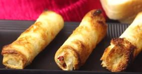 """RECIPE: चीज और ब्रेड से स्नैक्स को बनाए स्पेशल, 3 आसान स्टेप से बनाएं """"ब्रेड चीज रोल"""""""