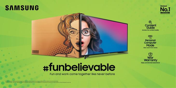 सैमसंग ने 12,990 की शुरुआती कीमत के साथ टीवी की नई सीरीज लॉन्च की