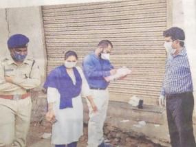महँगी बेच रहे थे शक्कर, दुकान सील - गलगला में एसडीएम ने की कार्रवाई