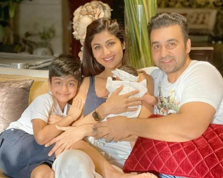 शिल्पा शेट्टी की बेटी 40 दिन की हुई, लिखा इमोशनल नोट
