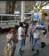 कोरोना वायरस के संदेह में खजुराहो एयरपोर्ट पर दो विदेशी पर्यटक को रोका गया