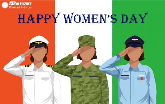 WOMEN'S DAY SPL: उन महिलाओं को सलाम, जिन्होंने डिफेंस में दिया अपना योगदान