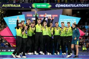Women's T20 World Cup: ऑस्ट्रेलिया रिकॉर्ड 5वीं बार बना चैम्पियन, भारत को दी 85 रन से करारी शिकस्त
