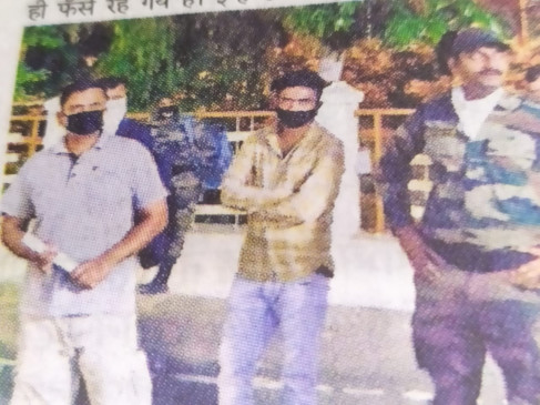 11 सौ फौजी जबलपुर में फँसे, पास लेने भीड़ में पहुँच गए कलेक्ट्रेट